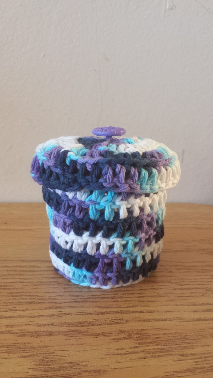 Tiny Crochet Box