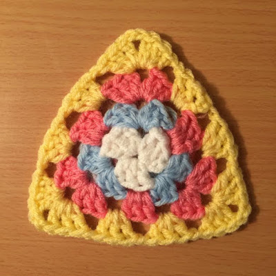 Crochet Granny Triangle Video Tutorial