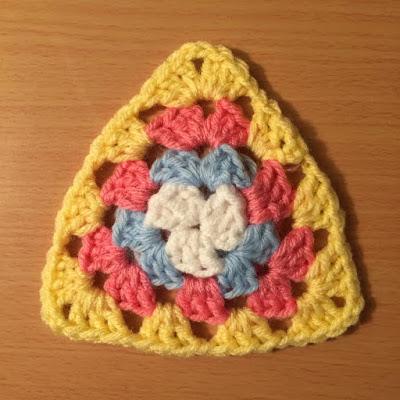 Crochet Granny Triangle Video Tutorial