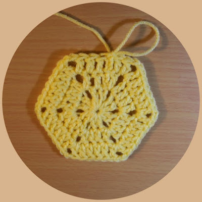 Crochet Simple Hexagon Video Tutorial