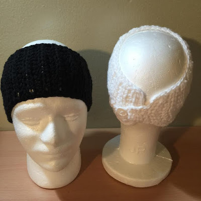 Crochet Ear Warmer Headband Tutorial