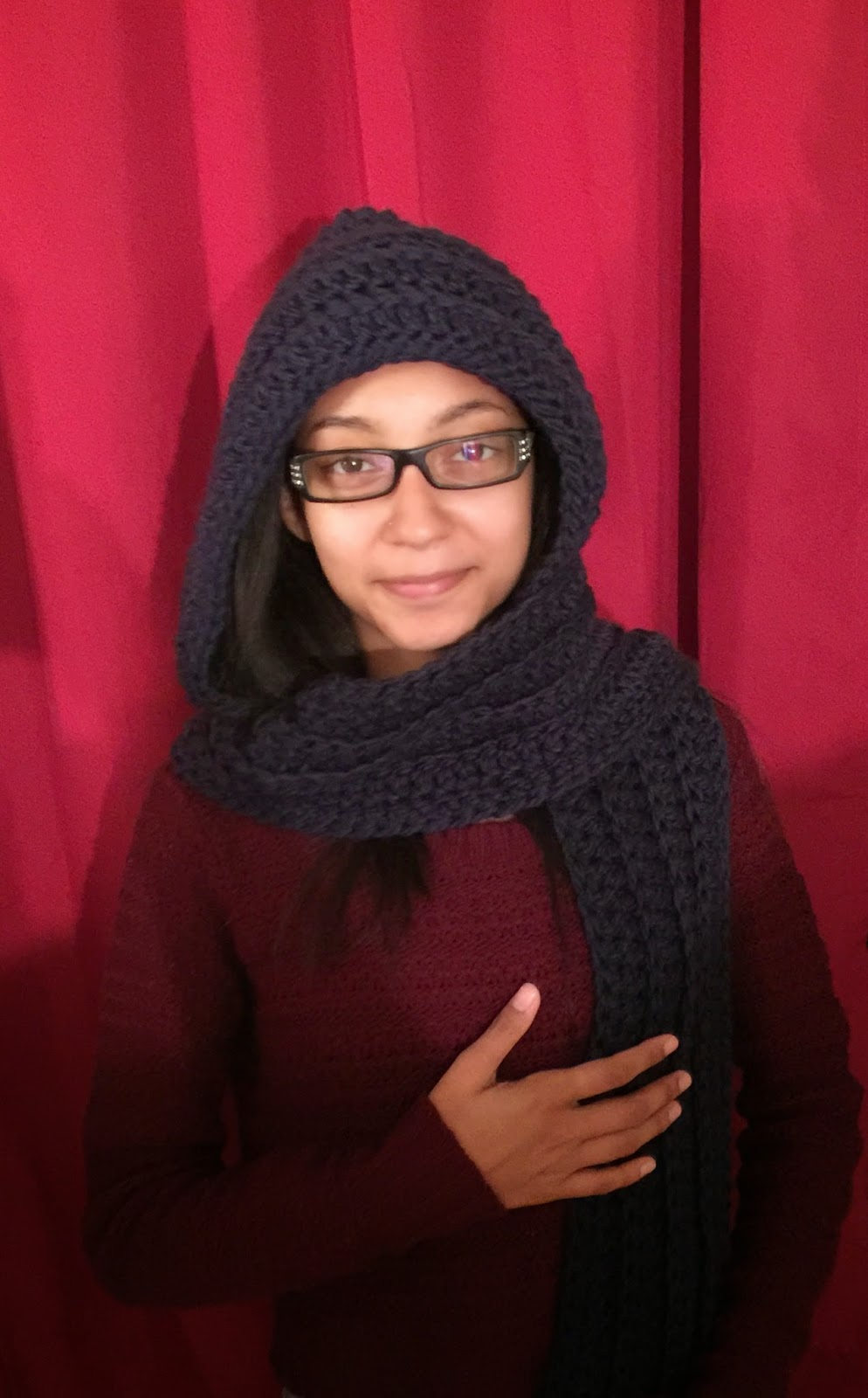 Keep Me Warm Hooded Scarf New Patterns