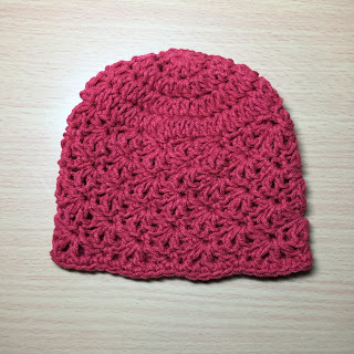 Crochet Shell Newborn Beanie Tutorial