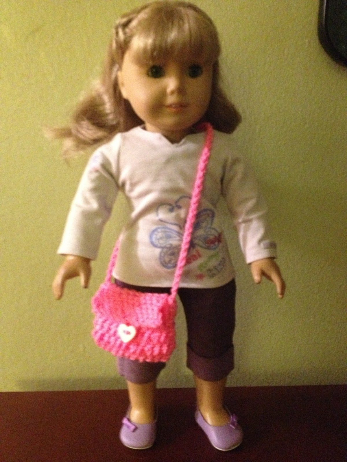 American Girl Doll Crochet Purse
