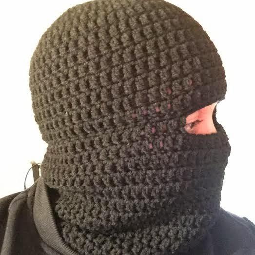 Crochet Balaclava Ski Hat Ski Beanie Pattern