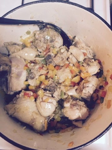 Stew Chicken (Pollo Guisado) Recipe