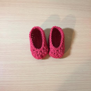 Crochet Simple Newborn Booties Tutorial