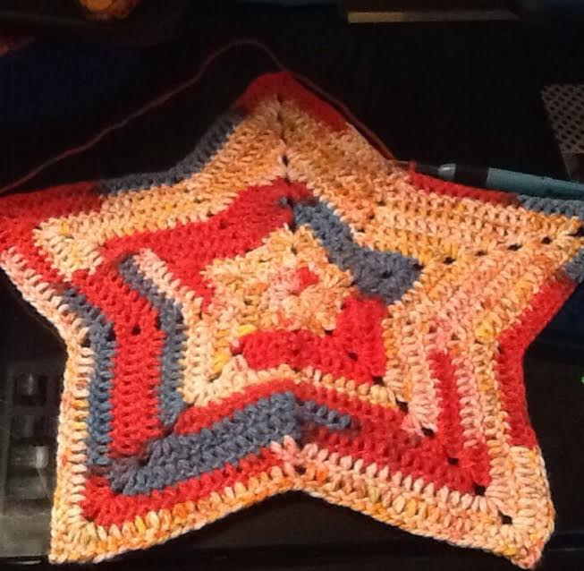 Crochet Star Afghan Blanket Tutorial