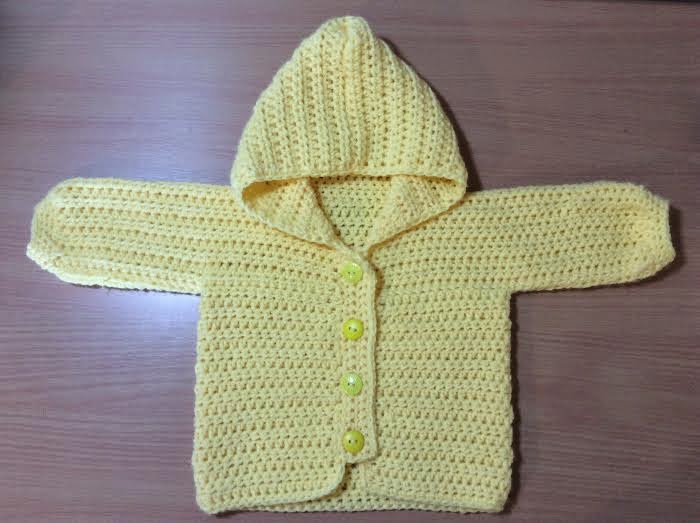 crochet Three Way Baby Sweater
