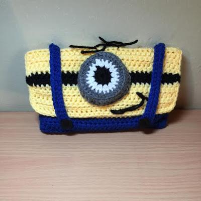 Crochet Minion Pencil Case Tutorial