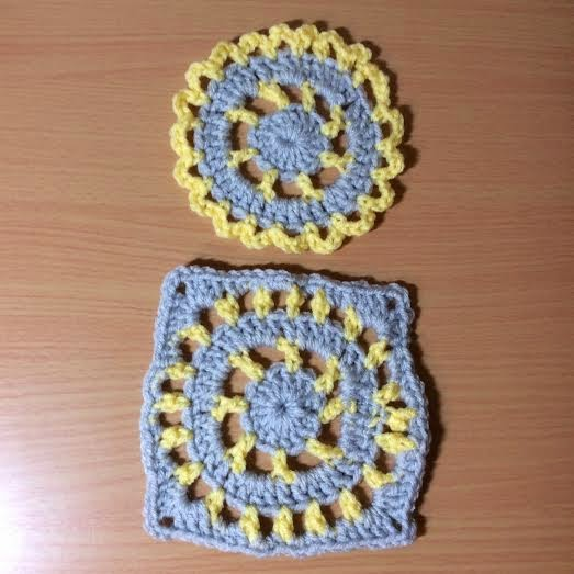 Crochet A Motif Then Turn To A Square