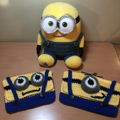 Crochet Minion Pencil Case Tutorial